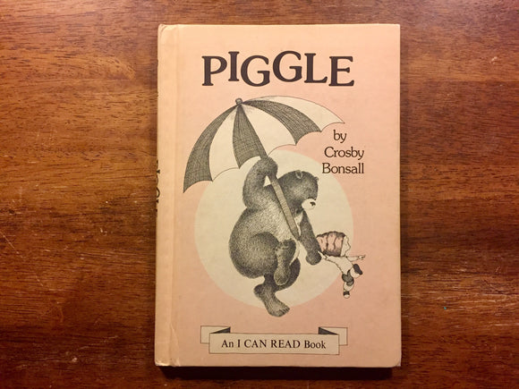 Piggle by Crosby Bonsall, 1st Edition, Vintage 1973, Hardcover Book, Illustrated