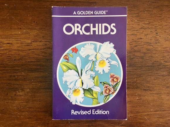 Orchids, A Golden Nature Guide, Vintage 1989