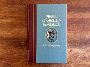 Anne of Green Gables by L.M. Montgomery, Illustrated by Mick Ellison, Vintage 1992, Hardcover Book