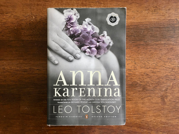 Anna Karenina by Leo Tolstoy, Penguin Classics, Deluxe Edition, PB Book