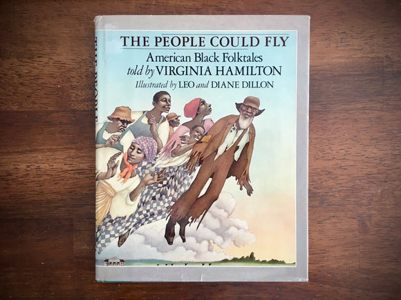 The People Could Fly, American Black Folktales told by Virginia Hamilton, HC DJ