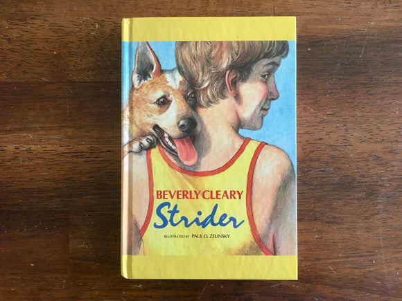 Strider by Beverly Cleary, Illustrated by Paul O Zelinsky, Vintage 1991