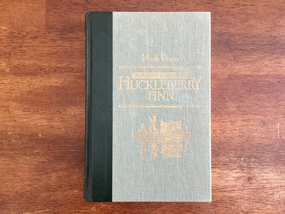 The Adventures of Huckleberry Finn by Mark Twain, Vintage 1986, Reader's Digest Edition, Illustrated by E.W. Kemble