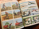 All Around Us, Basic Studies in Science, Vintage 1951, Hardcover, Illustrated
