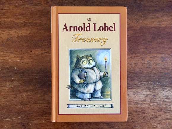 An Arnold Lobel Treasury, 3 Books in 1, Vintage 1986, 1st Harper Trophy Edition, Hardcover Book, Illustrated