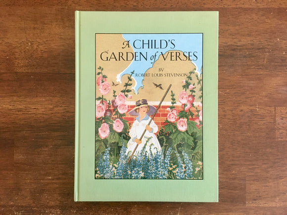 A Child's Garden of Verses, Robert Louis Stevenson, Ruth Mary Hallock Illustrated