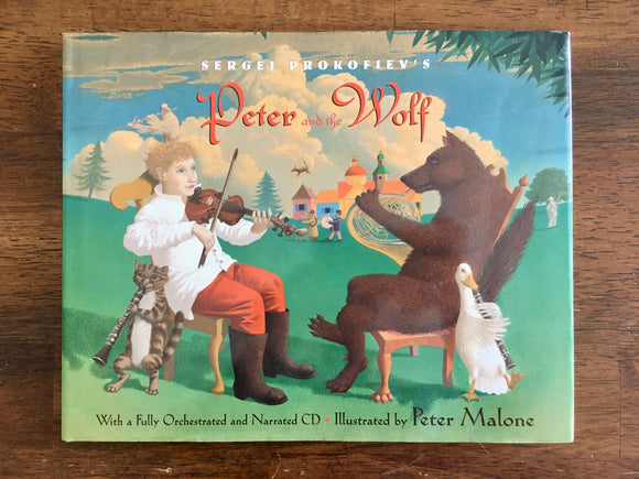 Sergei Prokofiev's Peter and the Wolf, Book and Audio CD, Peter Malone Illustrated