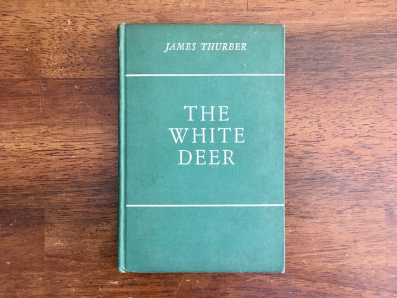 The White Deer by James Thurber, 1st Edition, 3rd Printing, Illustrated, 1945, HC