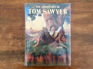 The Adventures of Tom Sawyer by Mark Twain, Illustrated Junior Library, Hardcover Book