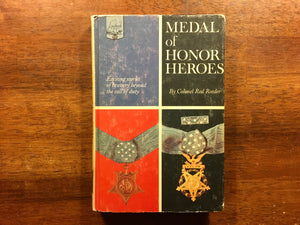 Medal of Honor Heroes by Colonel Red Reeder, Landmark Book , Vintage 1965