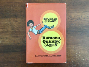 Ramona Quimby, Age 8, by Beverly Cleary, Vintage 1981, Hardcover Book, Illustrated