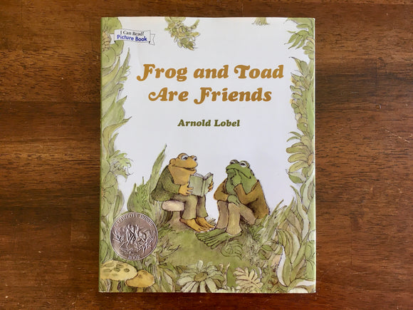 Frog and Toad Are Friends by Arnold Lobel, Large Format Book, HC DJ