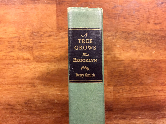 A Tree Grows in Brooklyn by Betty Smith, Vintage 1943, Hardcover Book