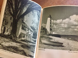 Ever New England, Hardcover Photo Book, Vintage 1945