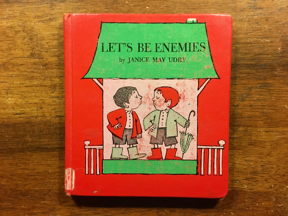 Let's Be Enemies by Janice May Udry, Illustrated by Maurice Sendak, Vintage 1961