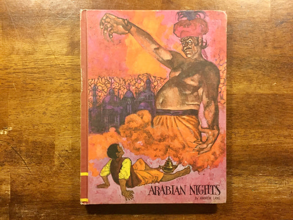 Arabian Nights by Andrew Lang, Illustrated by William Dempster, Vintage 1968, Hardcover Book, Illustrated