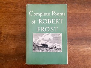Complete Poems of Robert Frost, Vintage 1968, Hardcover Book with Dust Jacket