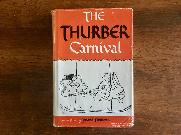 The Thurber Carnival by James Thurber, Vintage 1945, HC DJ