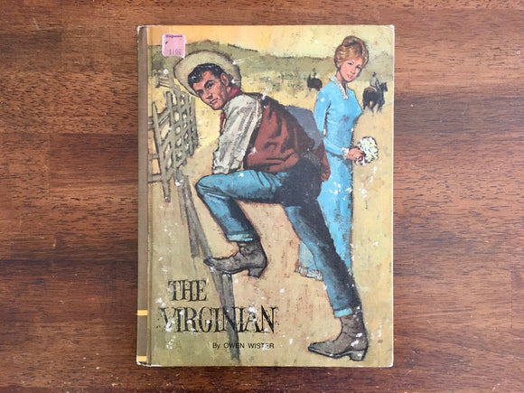 The Virginian by Owen Wister, Illustrated by Don Irwin, Vintage 1968