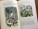 Through the Looking Glass by Lewis Carroll, 1946, Illustrated, John Tenniel, Fritz Kredel
