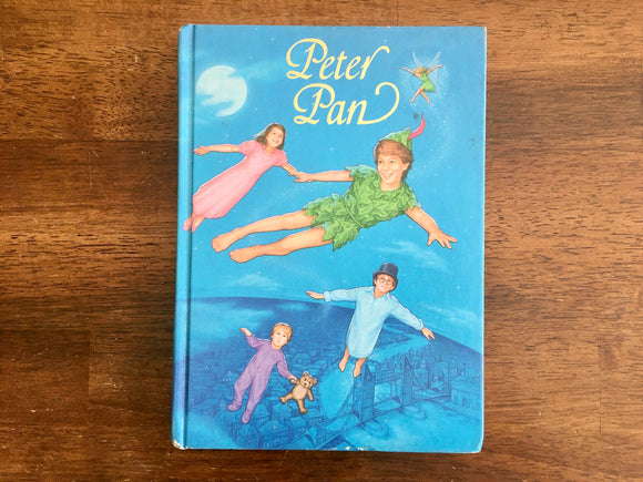 Peter Pan by J.M. Barrie, Illustrated Junior Library, Vintage 1987, HC