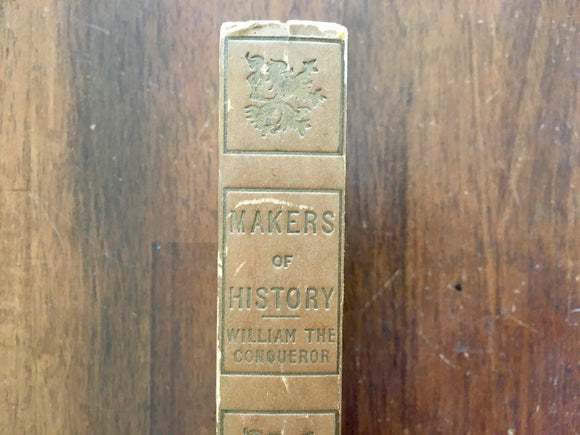 William the Conqueror by Jacob Abbott, Makers of History, Antique, Hardcover Book