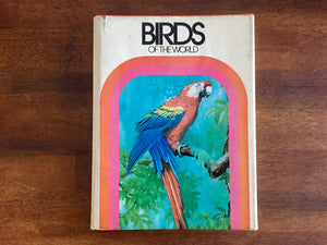 Birds of the World by David Stephen, Illustrated by Takeo Ishida, Vintage 1973, Hardcover Book