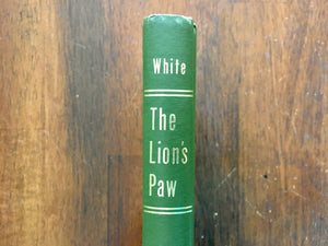 The Lion's Paw by Robb White, Illustrated by Ralph Ray, Vintage 1994, HC, Florida