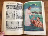 The Bible in Pictures. Harcover Book. Vintage 1952. Illustrated.