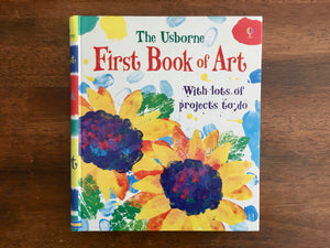 Usborne First Book of Art with Lots of Projects to Do by Rosie Dickins, Spiral Bound