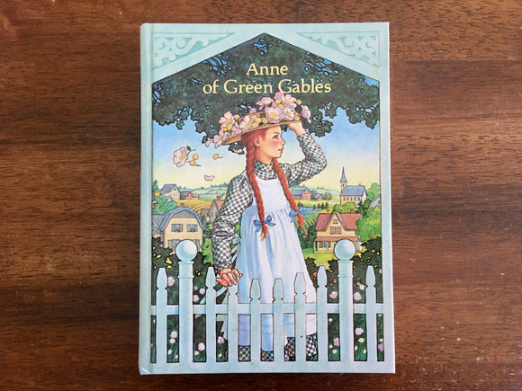 Anne Green Gables by L.M. Montgomery, Illustrated Junior Library, Hardcover Book