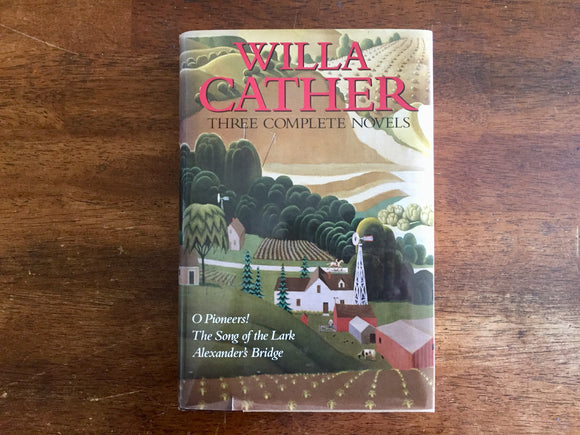 Willa Cather: Three Complete Novels, Hardcover Book with Dust Jacket