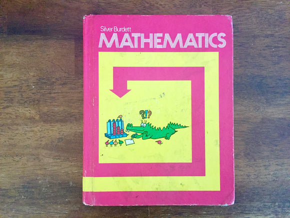Silver Burdett Mathematics, 2nd Grade, Vintage 1973, Hardcover Book