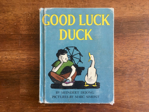 Good Luck Duck by Meindert DeJong, Pictures by MarcSimont, Vintage 1950