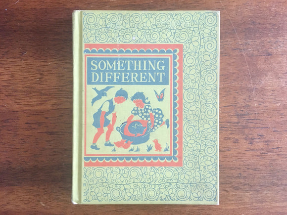 Something Different by Eva Knox Evans, Illustrated by Pelagie Doane, Vintage Reader, 1947, D.C. Heath and Company, Hardcover Book