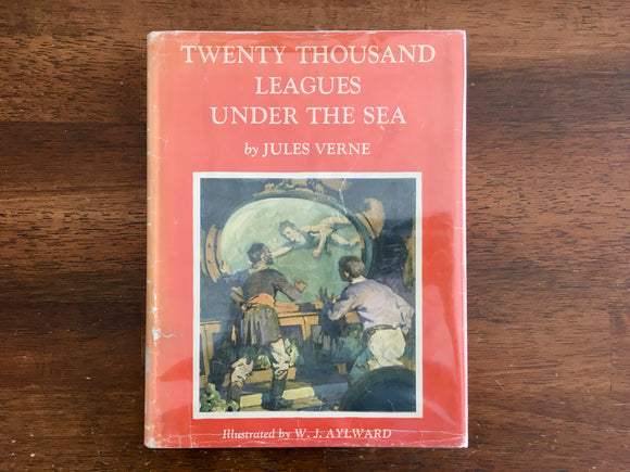 Twenty Thousand Leagues Under the Sea, Jules Verne, W.J. Aylward Illustrated, 1960