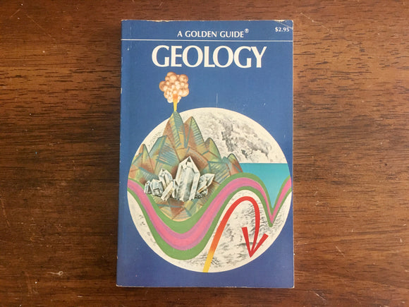 Geology, A Golden Guide, Vintage 1972, Golden Press, PB