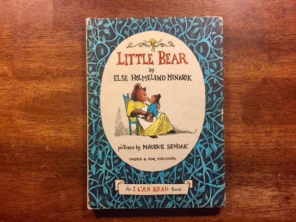 Little Bear by Else Holmelund Minarik, Illustrated by Maurice Sendak, Vintage 1957, Hardcover Book