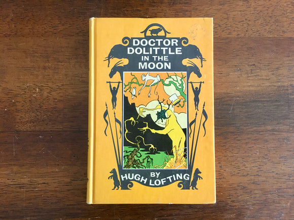 [RESERVED for Ashley] Doctor Dolittle in the Moon by Hugh Lofting, Vintage 1956, Hardcover, Illustrated