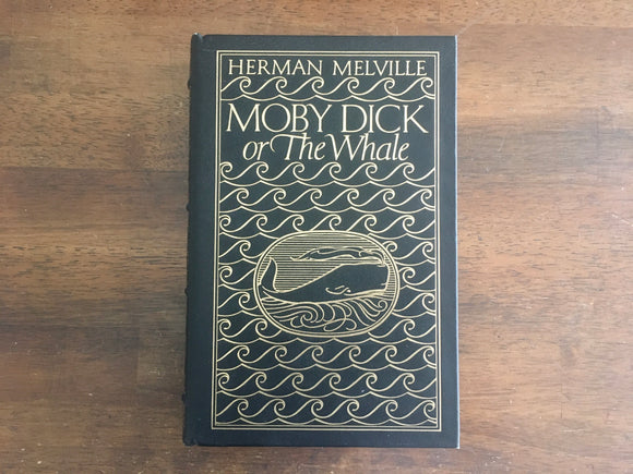 Moby Dick, or The Whale, by Moby Dick, Easton Press, Vintage 1977, HC