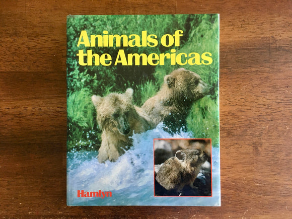 Animals of the Americas, Dr. Jiri Felix, Illustrated, Vintage 1982, HC DJ, Nature