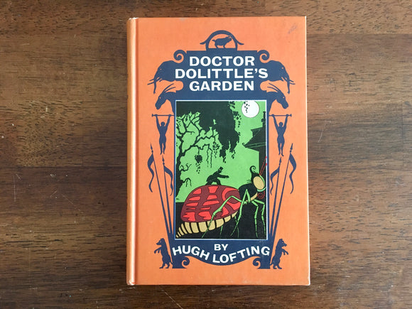 [RESERVED for Ashley] Doctor Dolittle's Garden by Hugh Lofting, Vintage 1955, Hardcover, Illustrated
