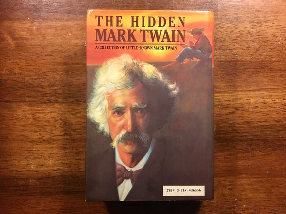 The Hidden Mark Twain, Vintage 1984, Hardcover Book, HC DJ, First Printing