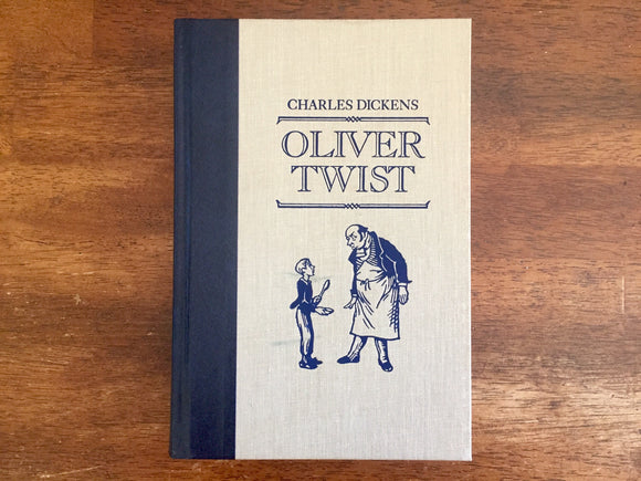 Oliver Twist by Charles Dickens, Reader's Digest Edition, Hardcover Book, Illustrated by George Cruikshank