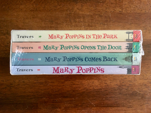 Mary Poppins Boxed Set by P.L. Travers, 2015, Paperback, Brand New