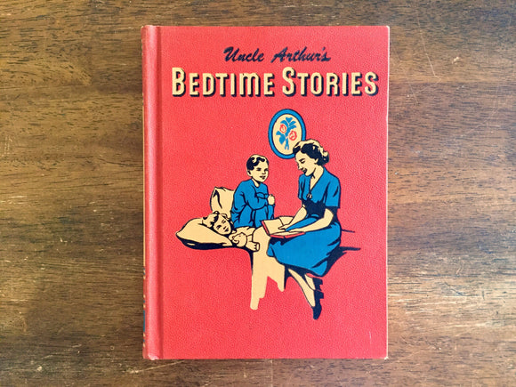 Uncle Arthur's Bedtime Stories, Volume Five, by Arthur S. Maxwell, Vintage 1951, Hardcover Book, Illustrated