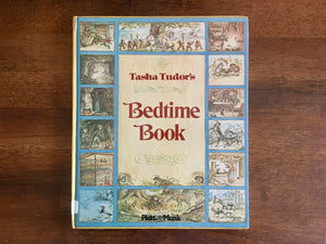 Tasha Tudor's Bedtime Book, Illustrated, Vintage 1977, HC