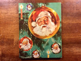 Jolly Old Santa Claus, Hardcover Book, Vintage 1961, George Hinke Illustrated, Christmas