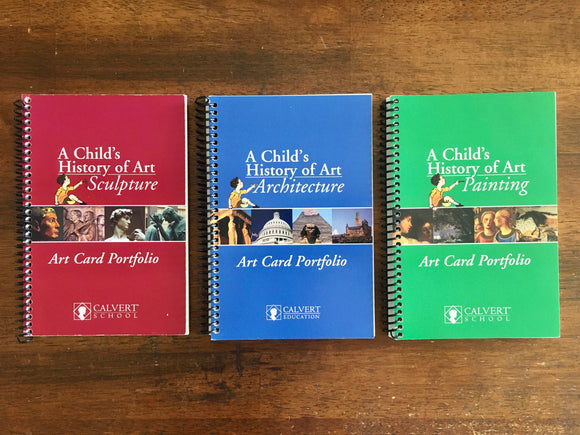 A Child's History of Art Cards: Sculpture, Architecture, Painting, Calvert School