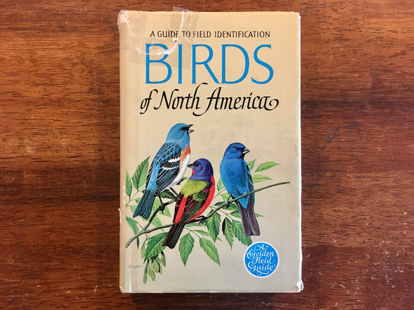 Birds of North America, Golden Guide to Field Identification, Vintage 1966, Hardcover Book with Dust Jacket